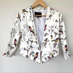 Angele Eve London cropped jacket